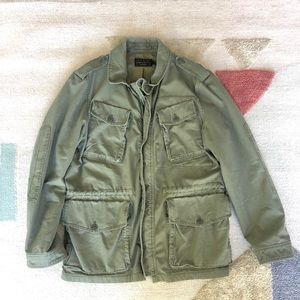 Men's J Crew Military Fatigue Army Jacket
